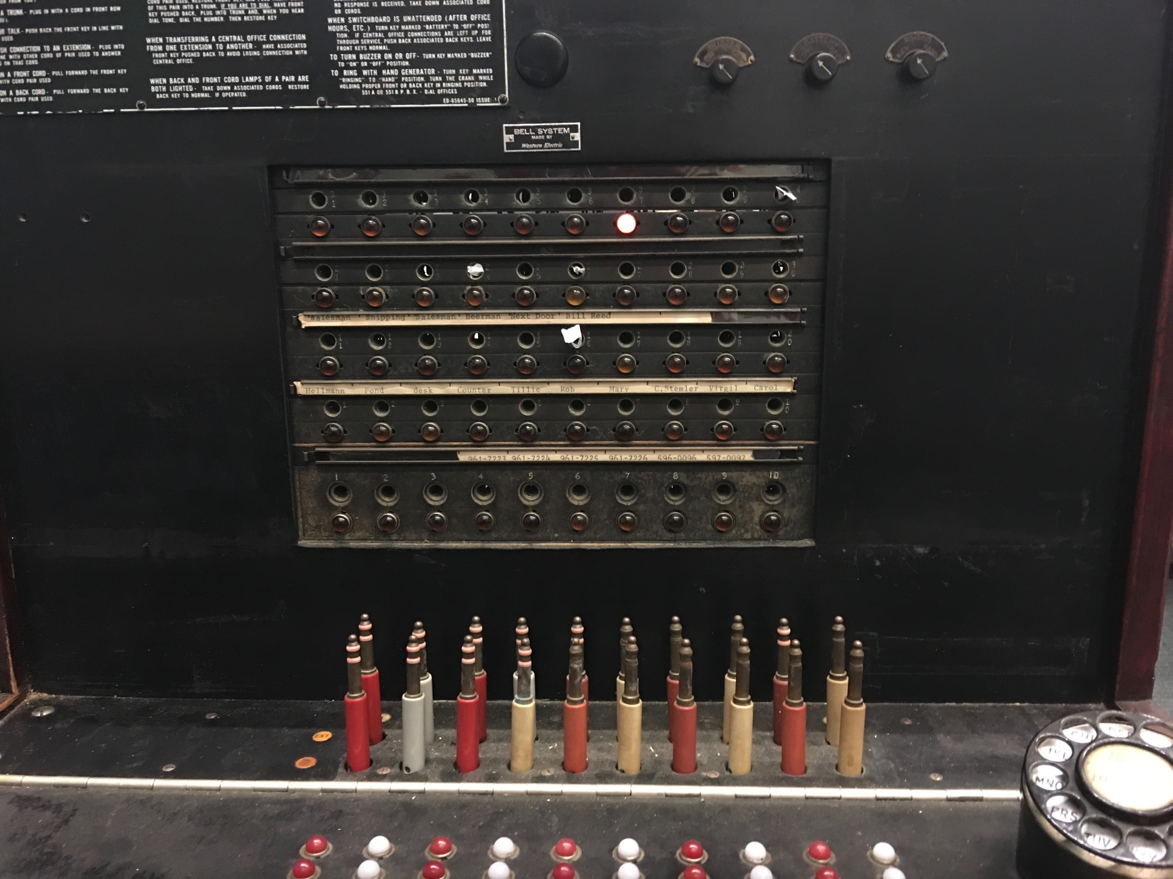Refurbishing A 1927 Switchboard Part 1 Wiring Selector Switch This Is The Modern Diagram With While It Wouldnt Be Too Difficult To Wire Up These Bulbs Microcontroller We Instead Opted Replace Them Leds